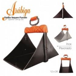 ESTRIBO VAQUERO ARÁBIGA INOX 12x26