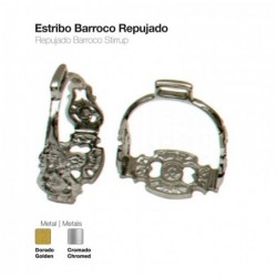 ESTRIBO BARROCO REPUJADO