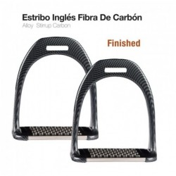 ESTRIBO INGLÉS FIBRA CARBÓN FINISHED 1904-CA