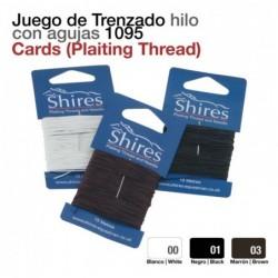 JUEGO DE TRENZADO HILO CON AGUJAS 1095