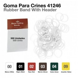 GOMA PARA CRINES 41246