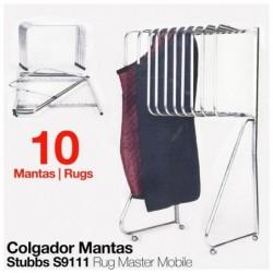 COLGADOR PARA MANTAS S9111 STUBBS (10 MANTAS)