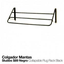 COLGADOR PARA MANTAS STUBBS S89 NEGRO