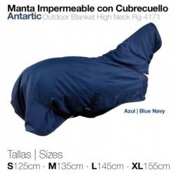 MANTA IMPERMEABLE CON CUBRECUELLO ANTARTIC