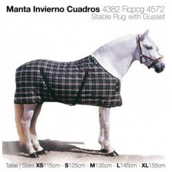 MANTA INVIERNO CUADROS 4382FICPCG4572EN