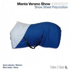 MANTA VERANO SHOW 438W000R AZUL L