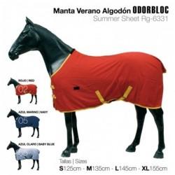 MANTA VERANO ALGODÓN ODORBLOC
