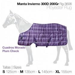 MANTA INVIERNO 300D 200gr RG-3606 MORADO