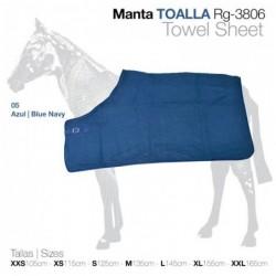MANTA TOALLA RG-3806 AZUL