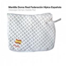 MANTILLA DOMA REAL FEDERACIÓN HÍPICA ESPAÑOLA BLANCO