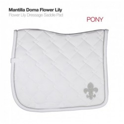 MANTILLA DOMA FLOWER LILY PONY O FULL