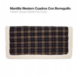MANTILLA WESTERN CUADROS L980302-B