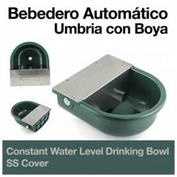 BEBEDERO AUTOMATICO UMBRIA CON BOYA CUBIERTA INOX