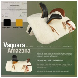ZALDI SPANISH SADDLE...