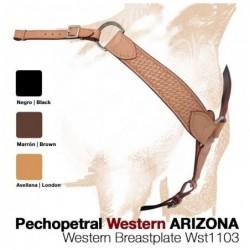 PECHOPETRAL WESTERN ARIZONA WST1103 NEGRO