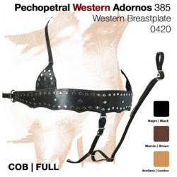 PECHOPETRAL WESTERN ADORNOS 385