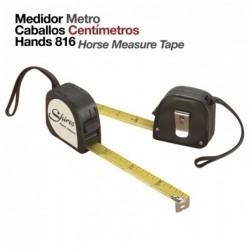 MEDIDOR METRO CABALLOS CENTÍMETROS HANDS 816