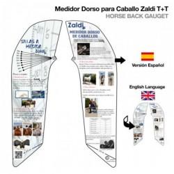 MEDIDOR DORSO PARA CABALLO ZALDI T+T