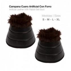 CAMPANA CUERO ARTIFICIAL CON FORRO W006