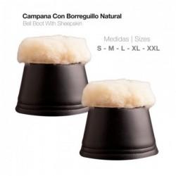 CAMPANA CON BORREGUILLO NATURAL HT0001
