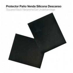 PROTECTOR PAÑO VENDA SILICONA DESCANSO GP540 NEGRO