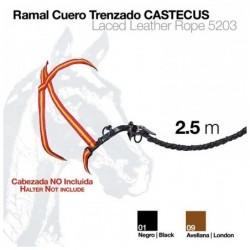 RAMAL CUERO TRENZADO CASTECUS 2.5m