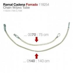 RAMAL CADENA FORRADO 118254 - 140 cm.