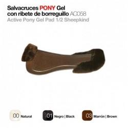 SALVACRUCES PONY GEL R/BORREGUILLO AC058