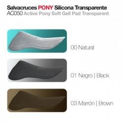 SALVACRUCES PONY SILICONA AC050