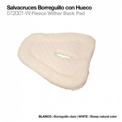 SALVACRUCES BORREGUILLO CON HUECO 572001-W BLANCO