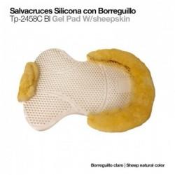 SALVACRUCES SILICONA CON BORREGUILLO TP-2458C BLANCO
