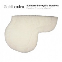 SUDADERO ZALDI EXTRA BORREGUILLO ESPAÑOLA BLANCO