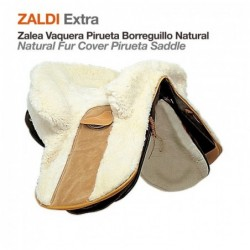 ZALEA ZALDI EXTRA PIRUETA BORREGUILLO NATURAL