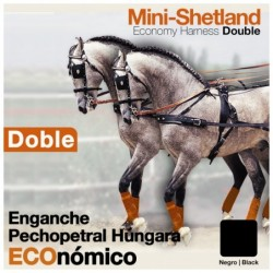 ENGANCHE PECHOPETRAL HÚNGARA DOBLE ECO. MINISHETLAND