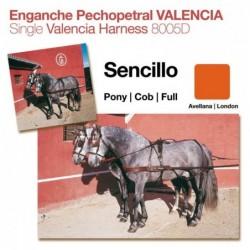 ENGANCHE PECHOPETRAL VALENCIA SENCILLO AVELLANA