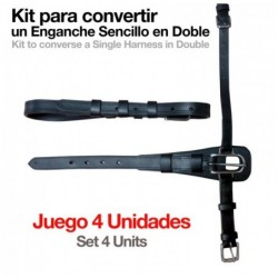ENGANCHE KIT CONVERTIR ENGANCHE SENCILLO A DOBLE