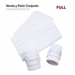 VENDA Y PAÑO CONJUNTO PONY PAR BLANCO
