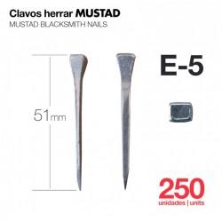 CLAVOS HERRAR MUSTAD 250uds...