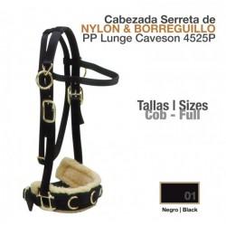 CABEZADA SERRETA DE NYLON &...