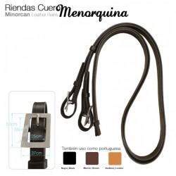 RIENDAS CUERO MENORQUINA &...