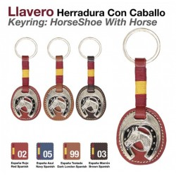 LLAVERO HERRADURA CON...