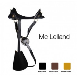 MC.LELLAND LEATHER SADDLE...