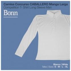 CAMISA CONCURSO BONN MANGA...