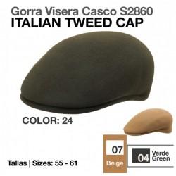 GORRA VISERA CASCO S.2860