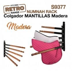 COLGADOR MANTILLAS MADERA...