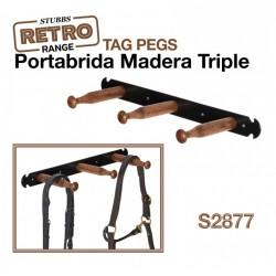 PORTABRIDA MADERA TRIPLE...
