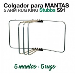COLGADOR PARA MANTAS STUBBS...
