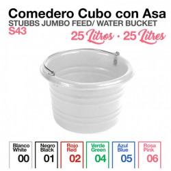 COMEDERO CUBO CON ASA...