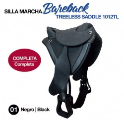 BAREBACK TREELESS SADDLE...